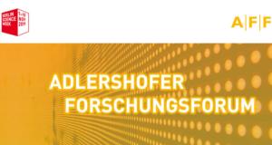 Adlershofer Forschungsforum @ Erwin Schrödinger-Zentrum