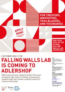 Falling Walls Lab Adlershof @ Bundesanstalt für Materialforschung und -prüfung (BAM), Gebäude/House 8.05, Raum/Room 201/202