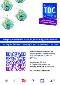 32. Tag der Chemie @ Virtuell mit der Universität Potsdam